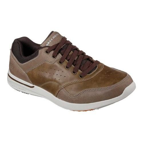 f4faa4572e7e Shop Men s Skechers Relaxed Fit Elent Velago Sneaker Light Brown - Free  Shipping Today - Overstock - 19408572