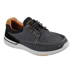 Men's Skechers Relaxed Fit Elent Mosen Boat Shoe Black