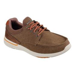 Men's Skechers Relaxed Fit Elent Mosen Boat Shoe Light Brown (More options available)