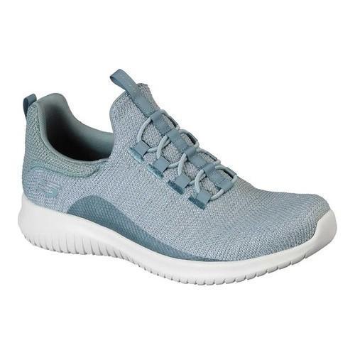 7ddc4947959e Shop Women s Skechers Ultra Flex Capsule Bungee Lace Sneaker Sage - Free  Shipping Today - Overstock - 19408627