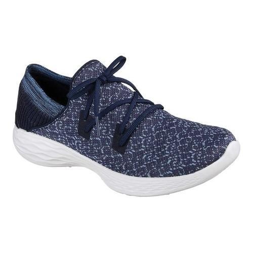 Women's Skechers YOU Exhale Slip On Sneaker Navy
