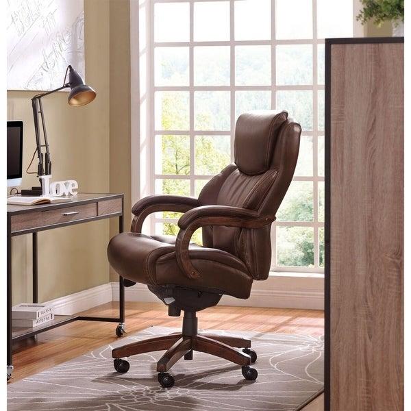 Shop La Z Boy Delano Executive Office Chair Overstock