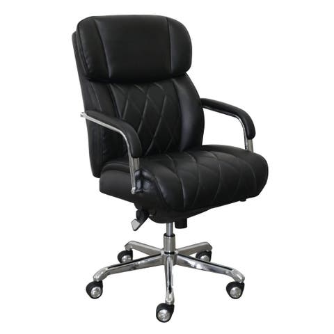La-Z-Boy Sutherland Office Chair with Padded Arms