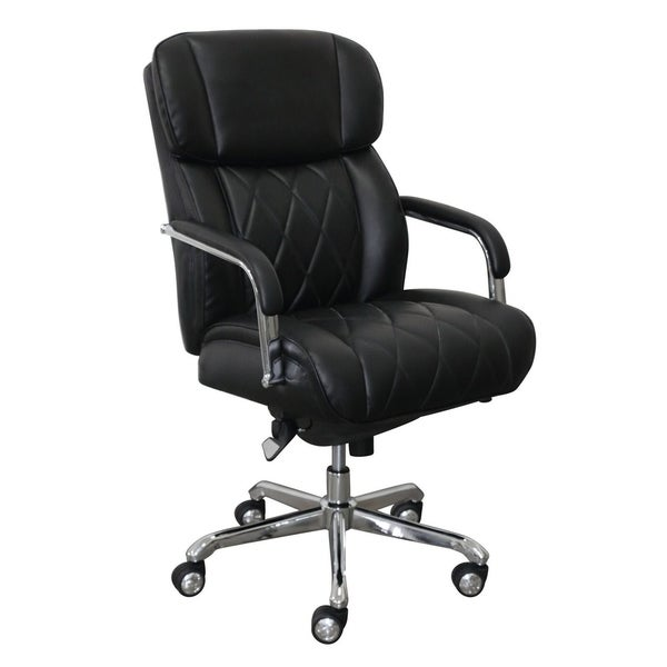 Shop La Z Boy Sutherland Office Chair With Padded Arms Free