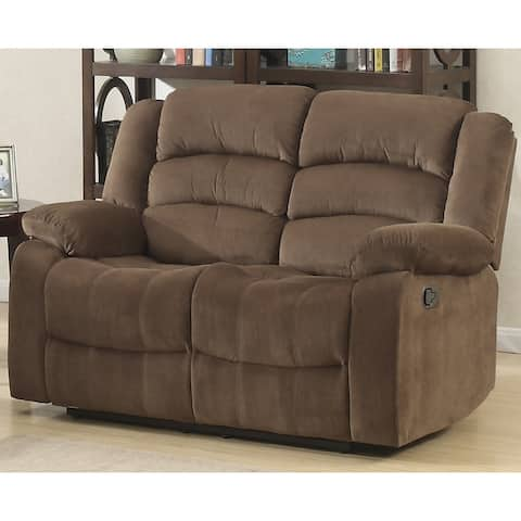 Copper Grove Shademill Brown Reclining Loveseat
