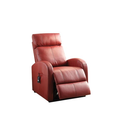 Copper Grove Blankenhain Faux Leather Recliner with Power Lift