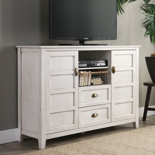 "The Gray Barn Kujawa 52"" TV Stand Console - White - 52 x 16 x 35h"