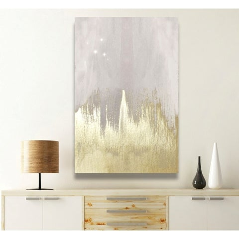 Silver Orchid Oliver Gal 'Offwhite Starry Night' Canvas Art