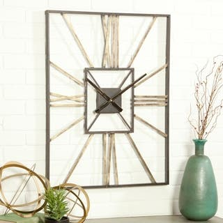The Gray Barn Pegasus Mid Century Wall Clock
