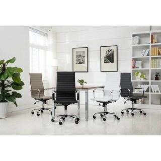 Oliver & James Sardar Ribbed High Back Office Chair