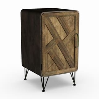 Carbon Loft Phyllis Wood and Metal Cabinet