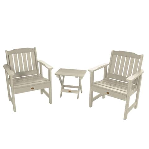 Mandalay Garden Chairs and Folding Side Table (3-piece Set) by Havenside Home
