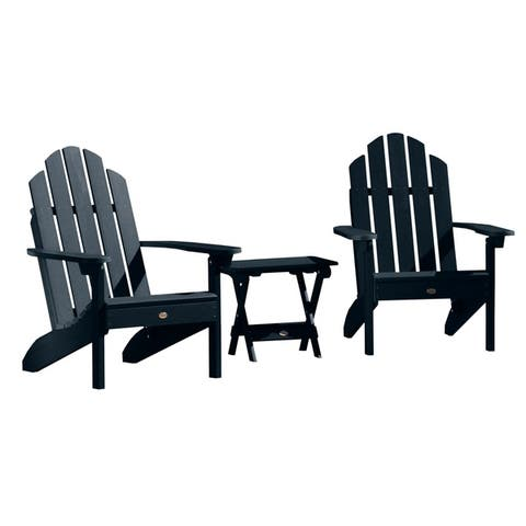 Mandalay Outdoor Chairs and Folding Side Table (3-piece Set) by Havenside Home