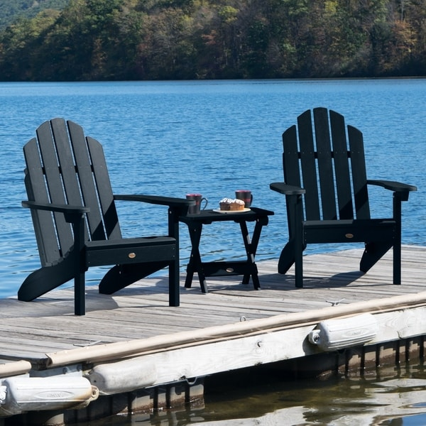 Mandalay Outdoor Chairs and Folding Side Table (3-piece Set) by Havenside Home. Opens flyout.