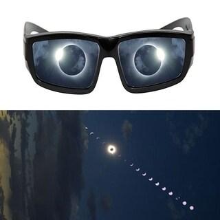3pcs Plastic Safe 3D Solar Eclipse Viewing Glasses Scrap-resistant Non Flashing
