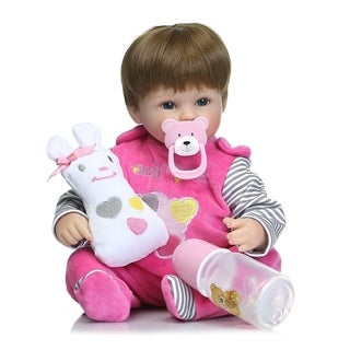 Simulation Baby Reborn Doll Toy Full Silicone Lifelike Parenting Kids Toy