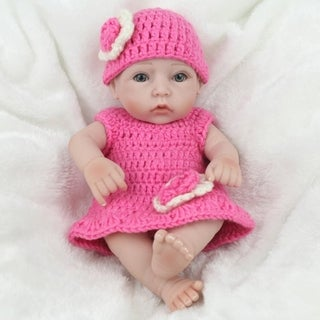 Baby Doll Infant Reborn Handmade Doll Eco-friendly Girl Doll For Gift Training