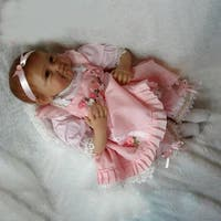 Girls Smile Realistic Lifelike Reborn Newborn Baby Doll Birthday Present