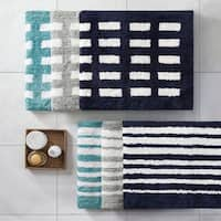 Madison Park Aster Reversible High Pile Tufted Bath Rug