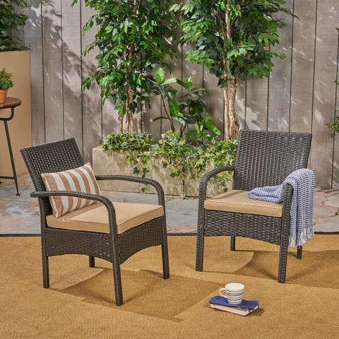 Cordoba Outdoor Wicker Club Chair by Christopher Knight Home