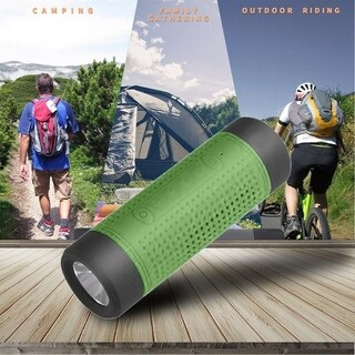 Outdoor Bicycle Bluetooth Speaker 4000mAh Power Bank FM Radio