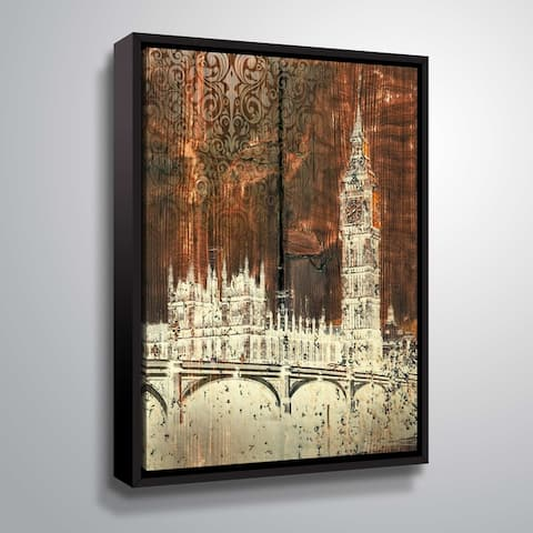 ArtWall's Big Ben Gallery Wrapped Floater-framed Canvas