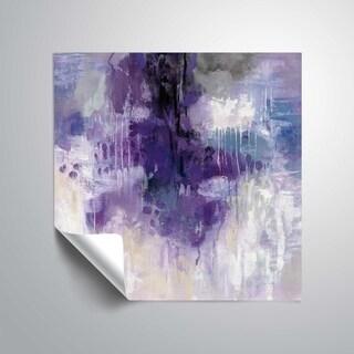 ArtWall's Violet Rain Removable Wall Art Mural