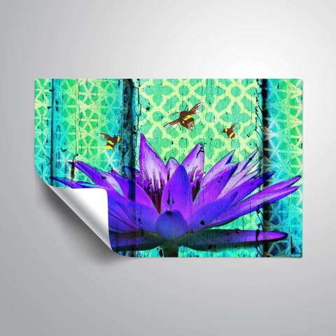 ArtWall's Water Lily Removable Wall Art Mural