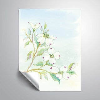 ArtWall's Dogwood Delight Removable Wall Art Mural