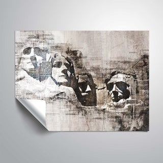 ArtWall's Mt Rushmore Removable Wall Art Mural