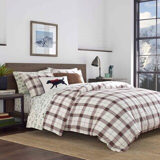 Eddie Bauer Riverdale Plaid Flannel Comforter Set