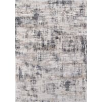 "Momeni Cannes Machine Made Tencel Grey Area Rug - 7'10"" x 11'2"""