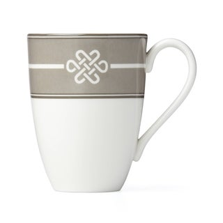 Lenox Neutral Party Knot Mug