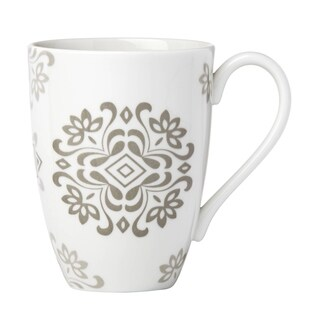 Lenox Neutral Party Medallion Mug
