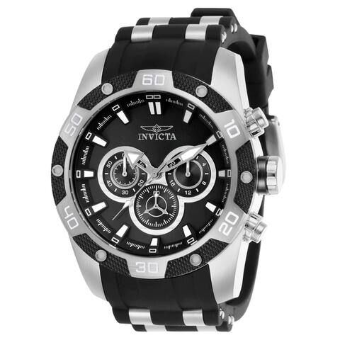 Invicta Men's 25832 Speedway Quartz Chronograph Black Dial Watch