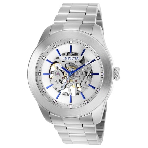 Invicta Men's 25758 Vintage Automatic 3 Hand Silver Dial Watch