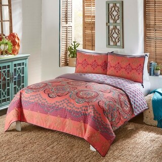 Boho Boutique Nadia 3 Piece Reversible Comforter Set