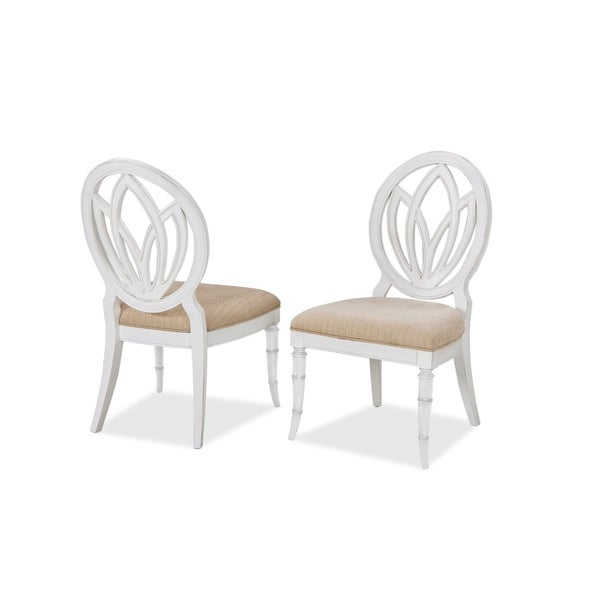 Isle of Palms Round Back Side Chair by Panama Jack (Set of 2)