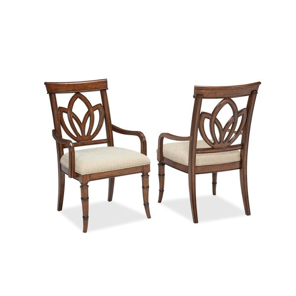 Isle of Palms Square Back Arm Chair by Panama Jack (Set of 2)