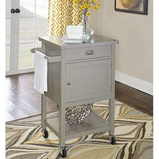 Julianna Gray Apartment Cart - N/A