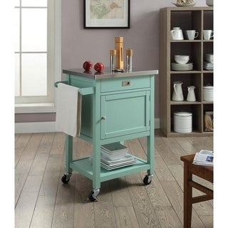 Julianna Green Apartment Cart - N/A
