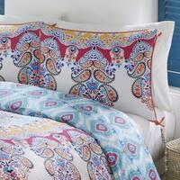 Boho Boutique Gypsy Rose 3 Piece Reversible Duvet set