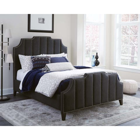 Coaster Sinclair Upholstered Bed