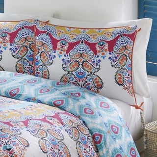 Boho Boutique Gypsy Rose 3 Piece Reversible Comforter Set