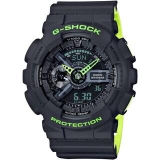 Casio G-Shock GA110LN-8A Men's Watch (Gray/Green)