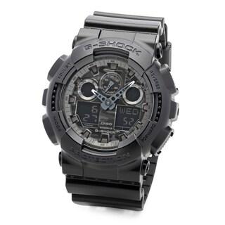 Casio G-Shock Analog-Digital Men's Watch (Black)