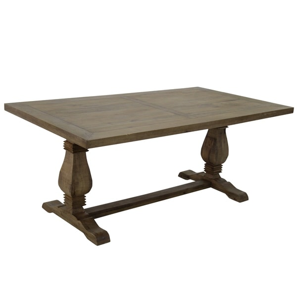 Shop Priage By Zinus Farmhouse Wood Dining Table: Shop AA Warehousing 72 Wide Farmhouse Style Rectangular