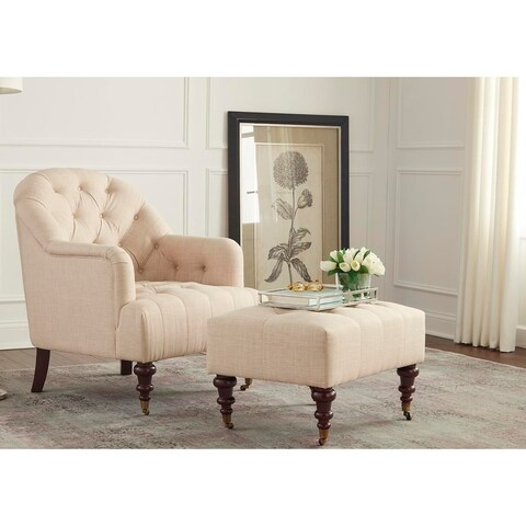 Simple Living Carlton Chair and Ottoman Set