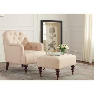 Simple Living Carlton Chair and Ottoman Set