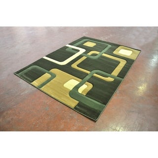 "Rug Tycoon Abstract Modern Contemporary Purple Rug - 2'7""x7'2""rectangular runner"